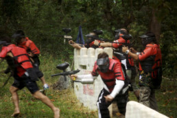 Paintball is a great way to spend a day in Puerto Galera. One of the best activities you can find around Puerto Galera, Oriental Mindoro.