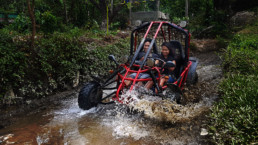 Extreme Sports Philippines Mud Karts one of the best activities near Puerto Galera White Beach and Sabang.