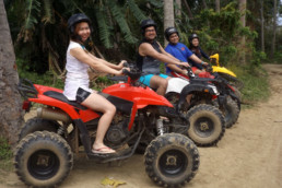 Come and try our ATV's in our off-road track. It is perhaps one of the most heart pumping activities you can find in Puerto Galera, Mindoro.